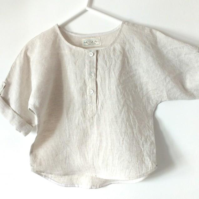 Linen boys shirt